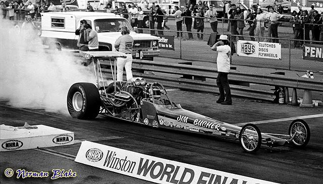 Jim Bucher Chevrolet Top Fuel Dragster 1975 Norman Blake