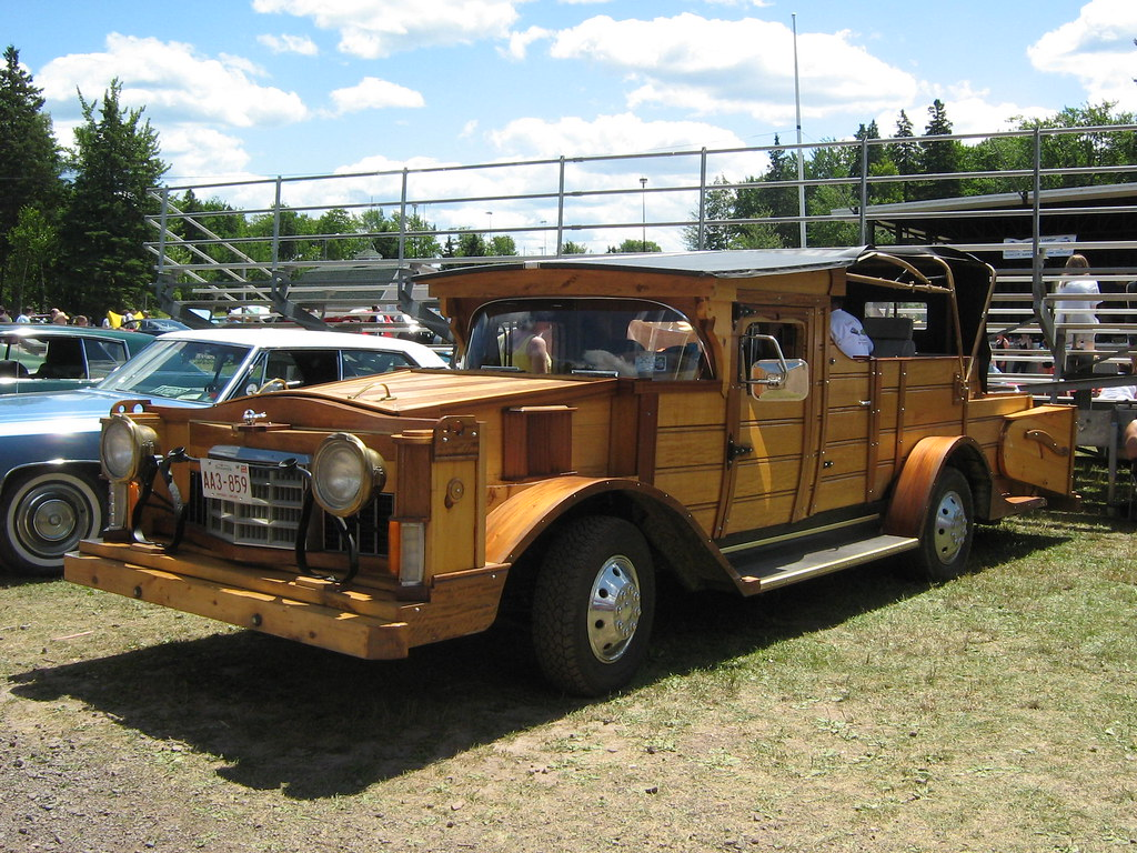 Homemade Street Legal Wooden Car The Body Of This Huge