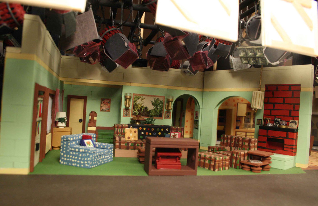 Roseanne roseanne was video taped at cbs studio center Home architecture tv show