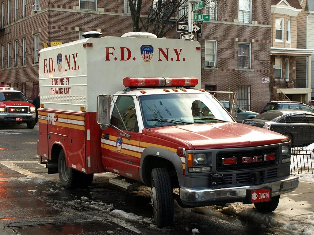Back Up Alarm >> E097s FDNY Engine 97 Thawing Unit, Bronx, New York City ...