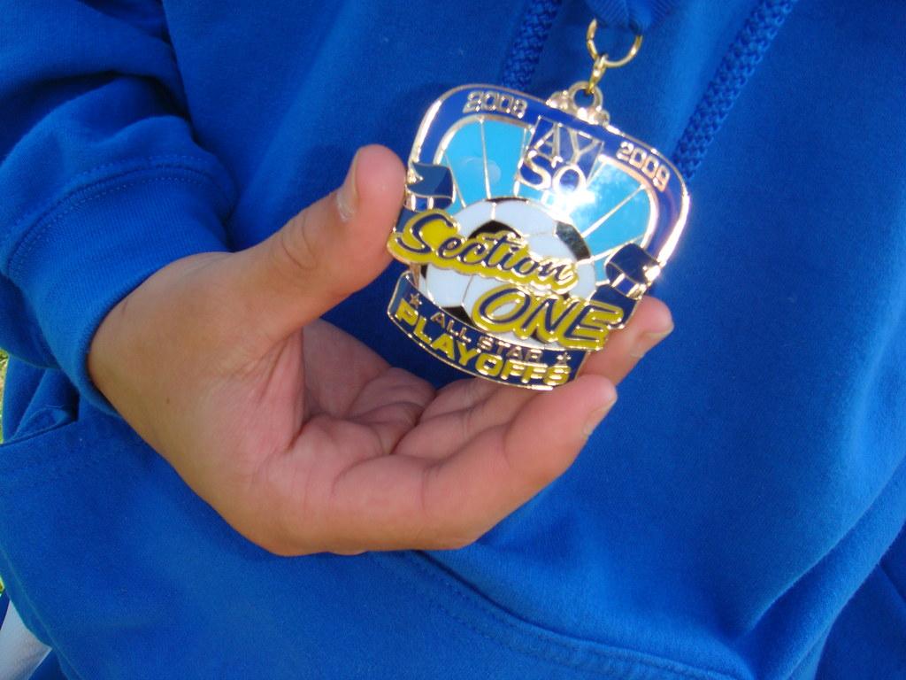 AYSO Region 88 Boys U14 Section 1 Champions The Medal | Flickr