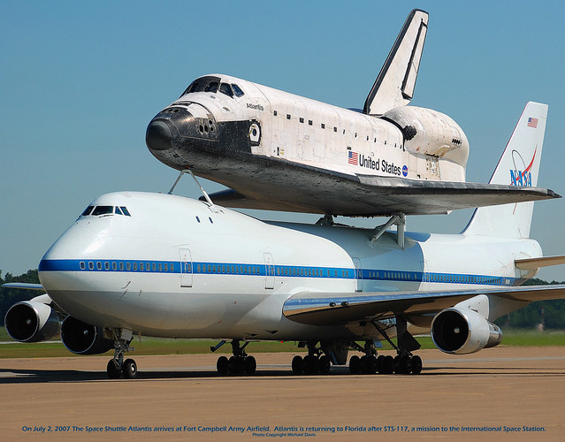 NASA Boeing 747-123(SCA) (N905NA) & Space Shuttle Atlantis ...