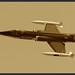 Starfighter in Sepia