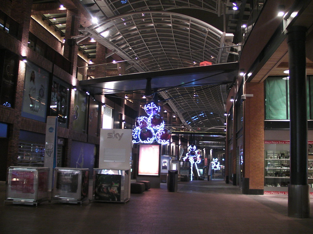 Cabot Circus Shopping Centre Glass House Bristol Bs Ab