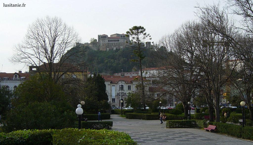 Ville et Château de Leiria