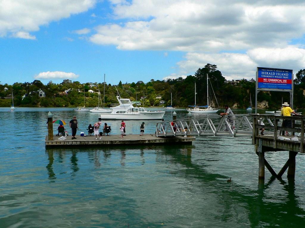 Herald Island Auckland New Zealand
