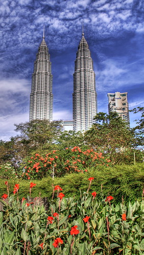 The Petronas Towers and the Lake Garden | by Stuck in Customs