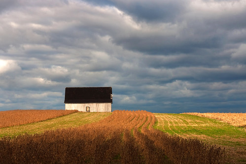 Barn and Clouds-Churchville, MD | by crabsandbeer (Kevin Moore)