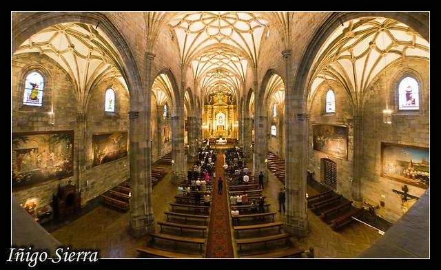 Basilica de Begoña  Imagen tomada con el Peleng durante una…  Flickr