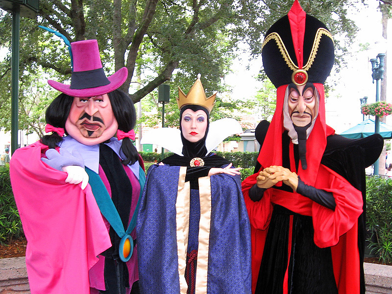 Governor Ratcliffe, The Queen, And Jafar