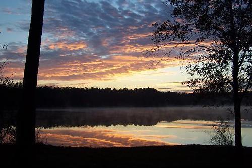 Sunrise Over Turkey Fork Lake Desoto National Forest Flickr
