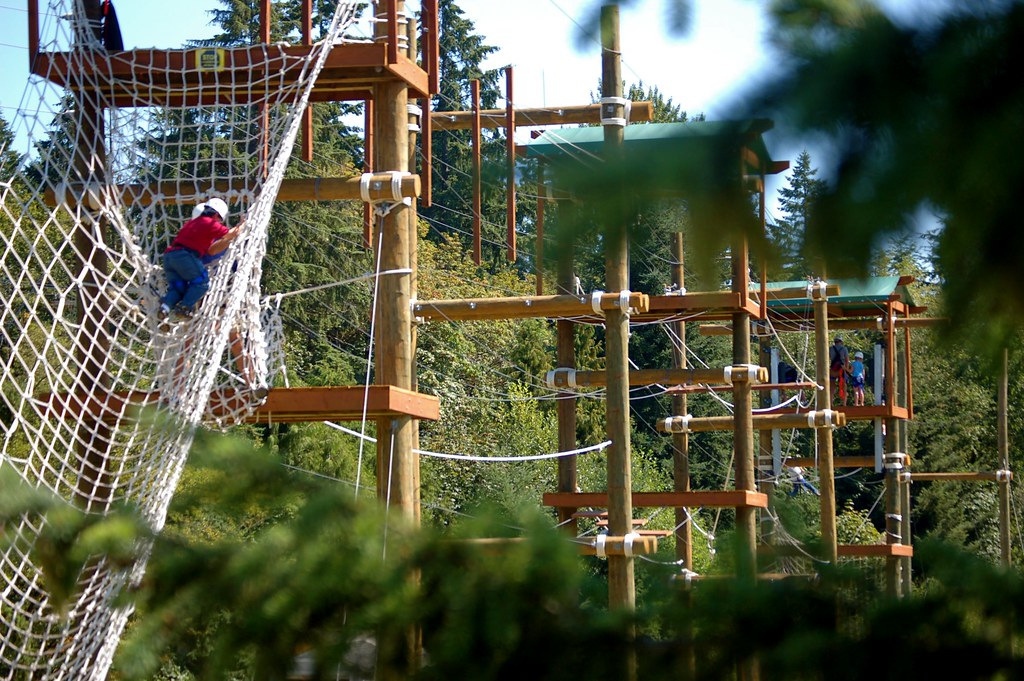 park ropes course king county parks your big backyard flickr