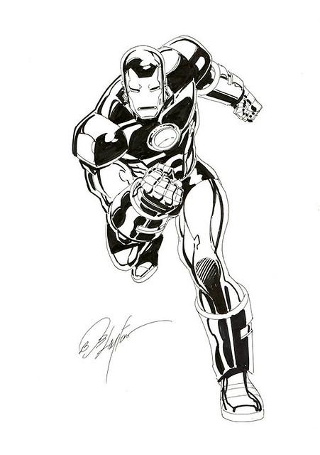 Iron Man By Bob Layton 06 28 2008 From Wizard World