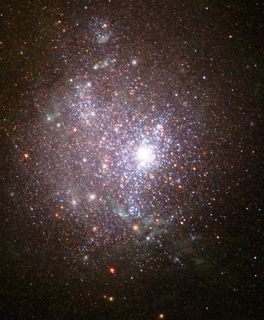 dwarf irregular galaxy ngc 1705 at 17 million light