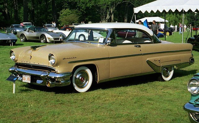 1955 lincoln capri 2 door hardtop flickr photo sharing