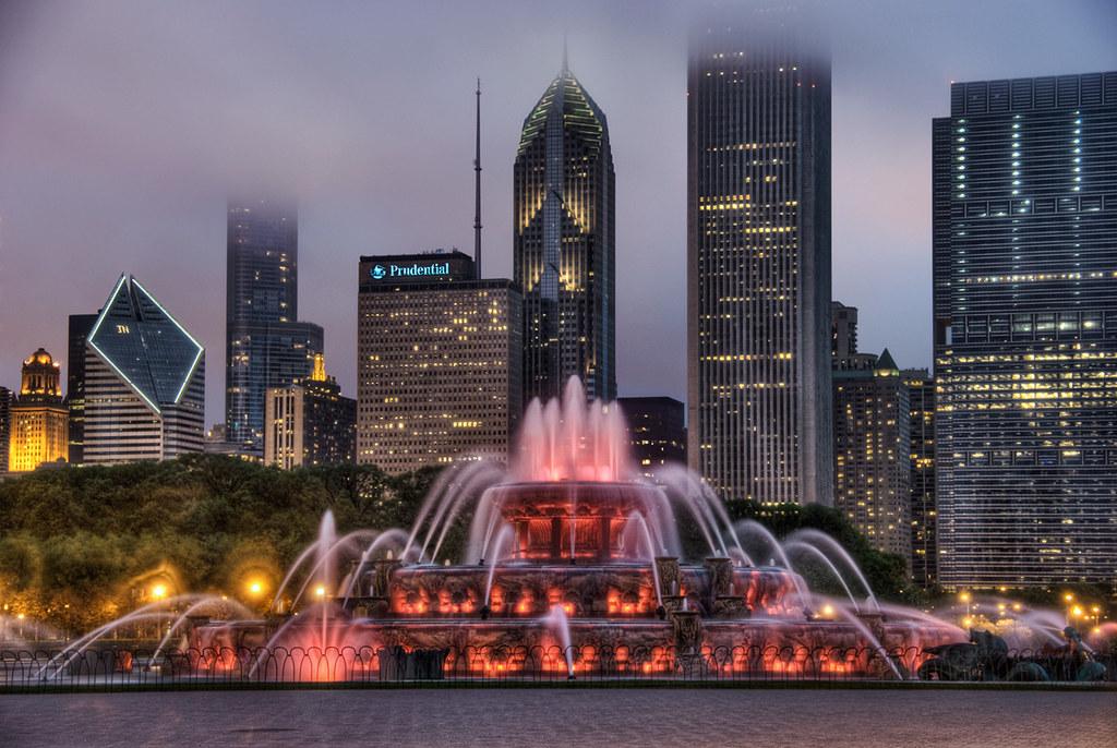 buckingham fountain chicago-#16