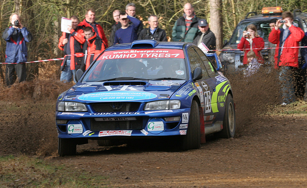 subaru impreza wrc 22b rallysunseeker rally car pictured a flickr. Black Bedroom Furniture Sets. Home Design Ideas