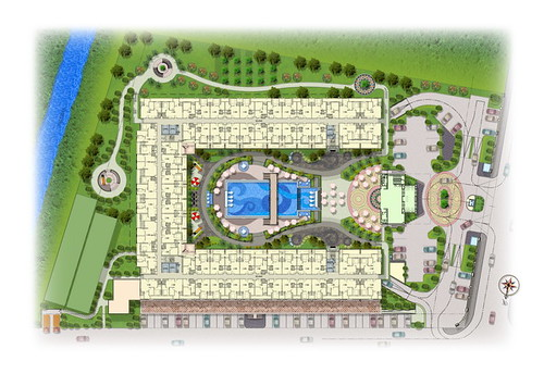 Apartment Site Plan : East coast apartment site plan design by domegah