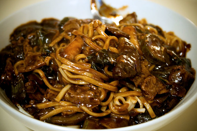 how to make korean noodles from scratch