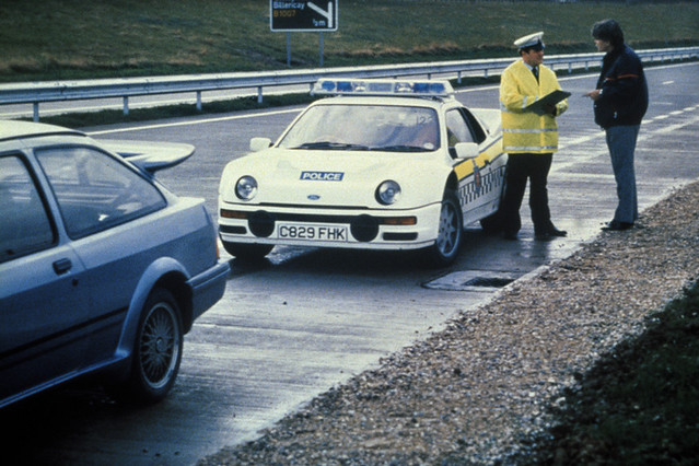 & Rare Ford RS200 in use as a Police Car   Super picture of thu2026   Flickr markmcfarlin.com