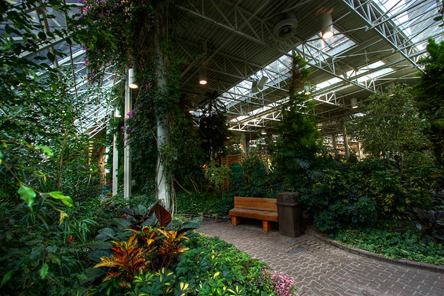 Devonian Gardens Calgary Gardens On The Fourth Floor Of