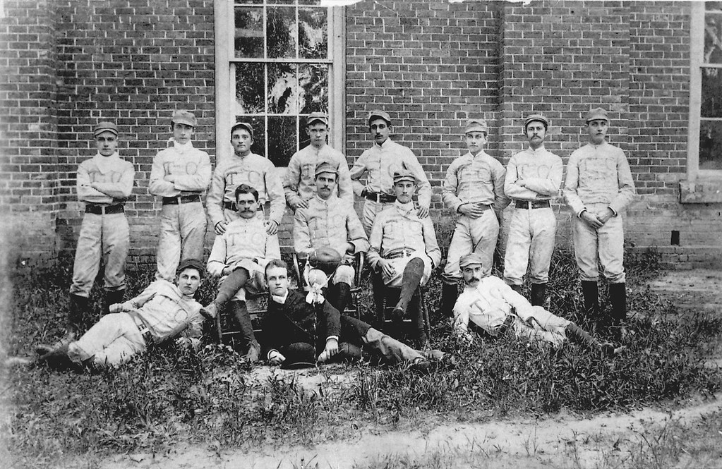 Trinity College Football Team  1888