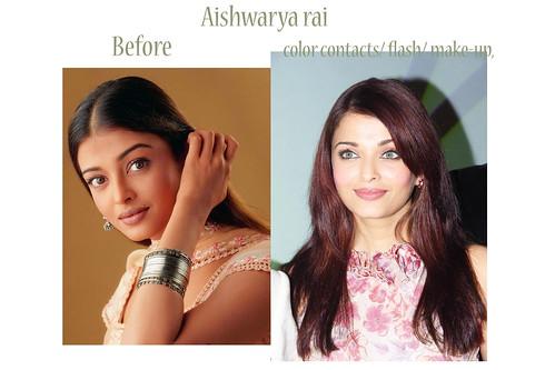 Look - Contact rai aishwarya lenses photo video