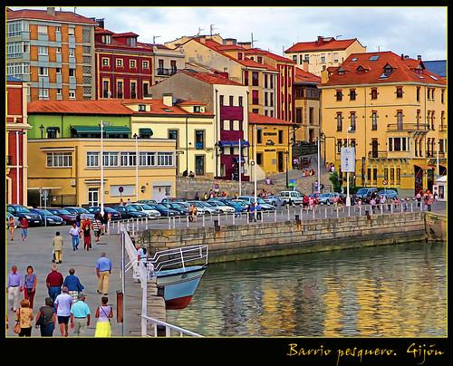 Barrio pesquero cimadevilla gij n flickr photo sharing - Fotos del sporting de gijon ...