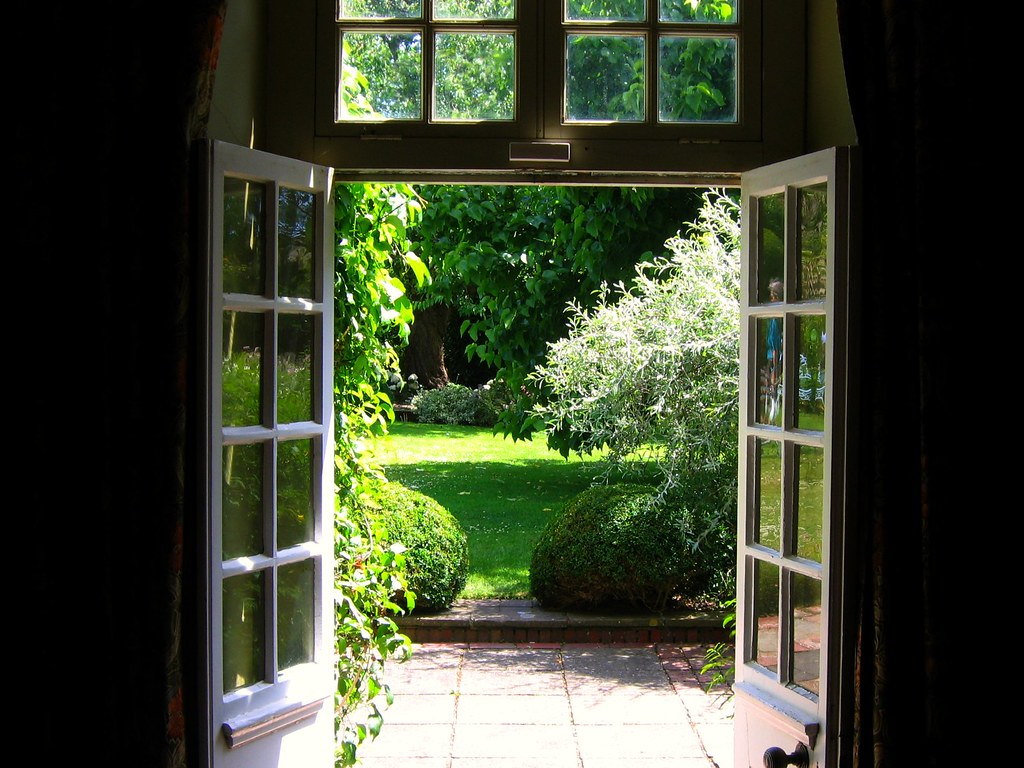 The View Of Henry James Garden At Lamb House Rye Flickr