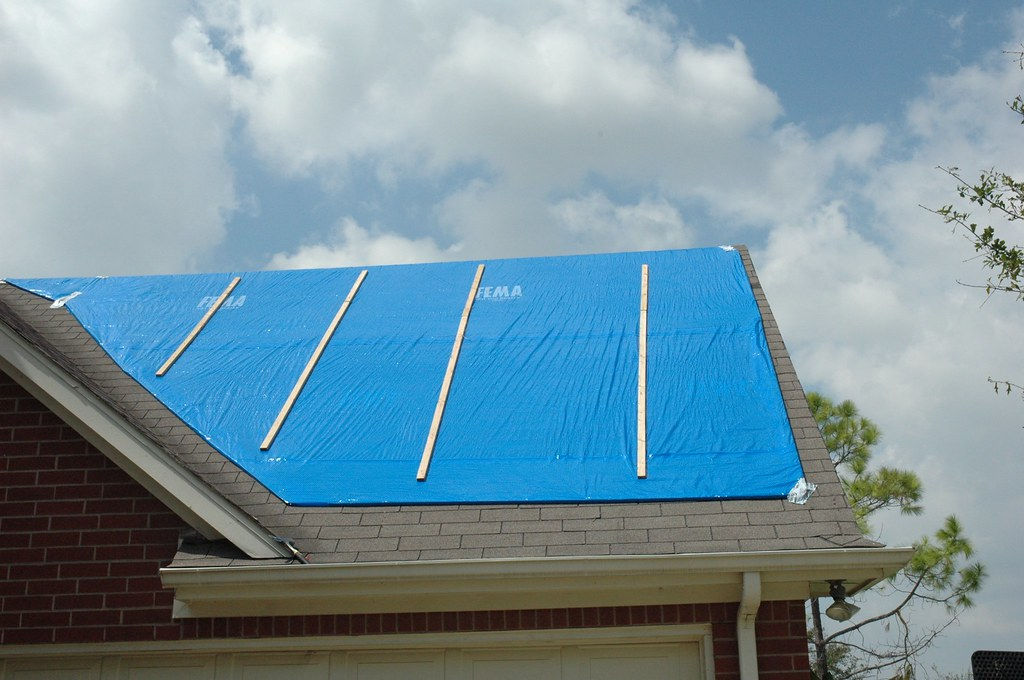 Operation Blue Roof Installation After Disasters Like