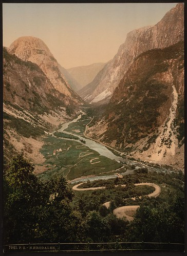 [Naerodalen, Hardanger Fjord, Norway] (LOC) | by The Library of Congress