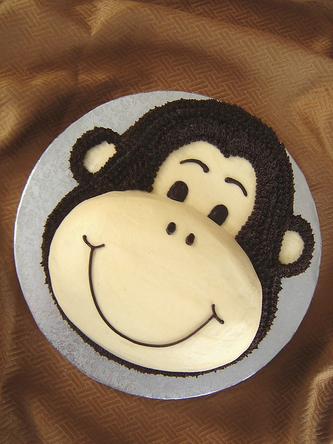 Monkey Cake I Am Not Thrilled With This Cake She Only
