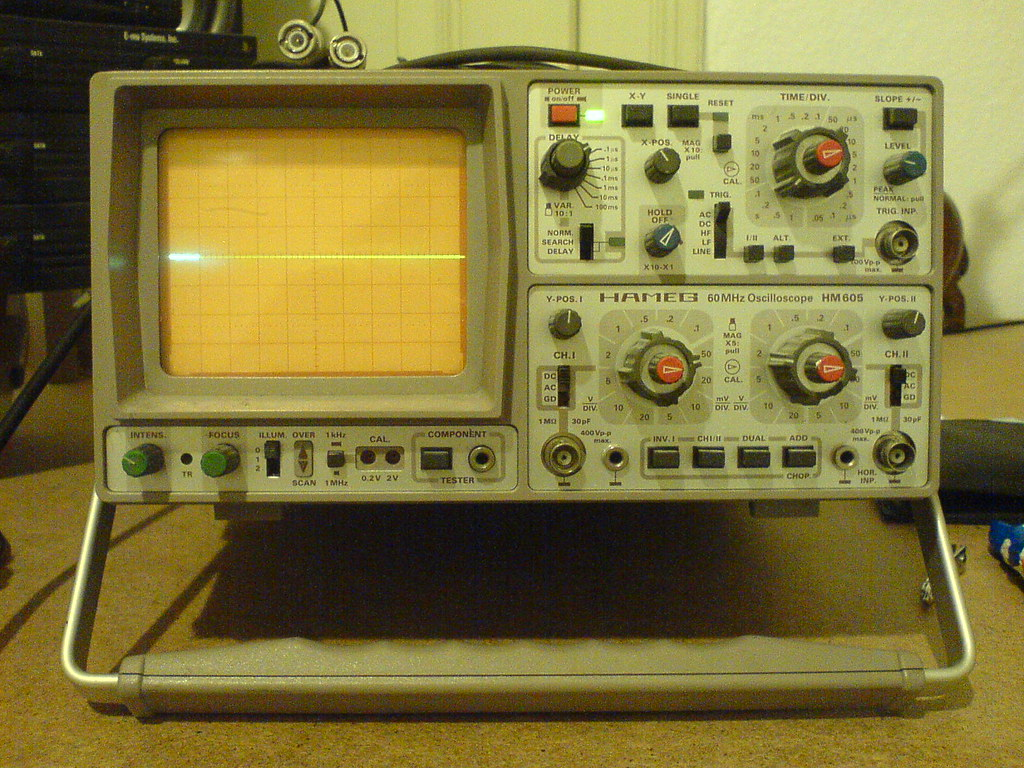 hameg hm 605 60 mhz oscilloscope ebay macht tr ume wahr s flickr. Black Bedroom Furniture Sets. Home Design Ideas