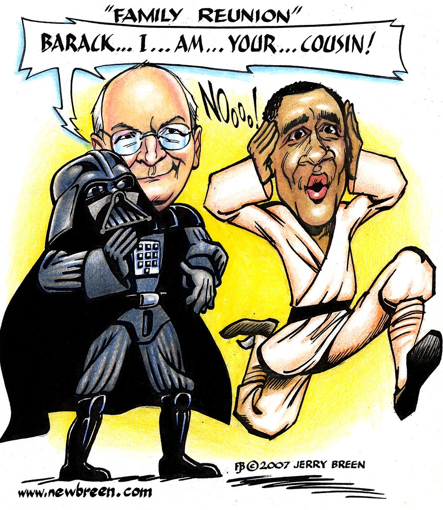 Cheney obama cartoon family reunion barack obama carto flickr sciox Image collections