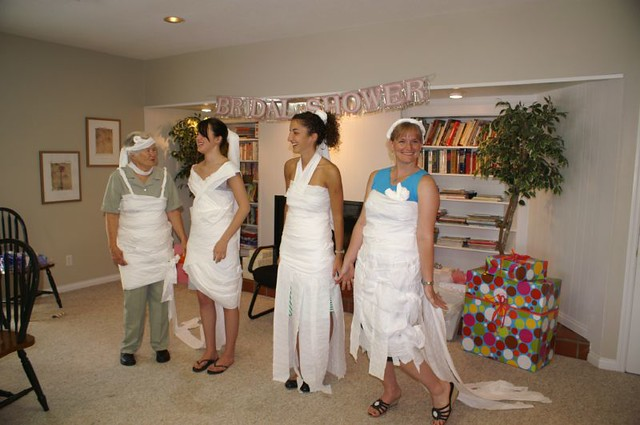 bridal shower games check out our toilet paper dresses by alzimmermanoh