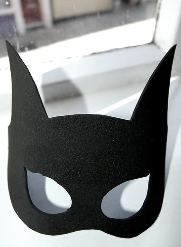 Batwoman mask template - photo#4
