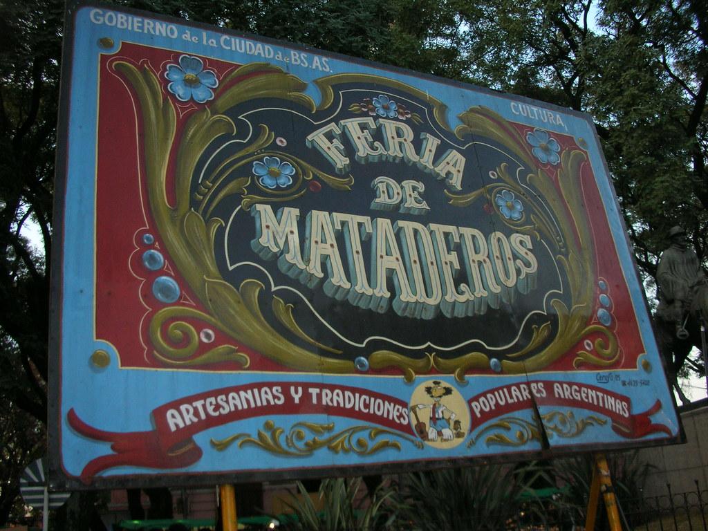 Ferias Buenos Aires - Feria de Mataderos