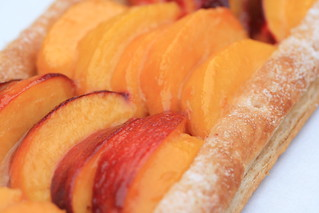 Rustic Nectarine and Peach Tart | by Food Librarian