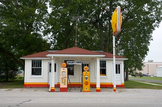 Old Soulsby Shell Gas Station