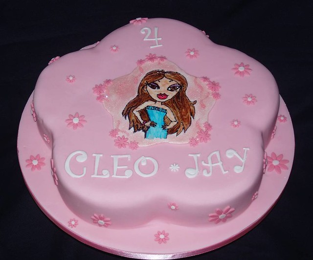 Tremendous Childrens Cakes Little Miss Bratz Why Not Have A Look A Flickr Birthday Cards Printable Benkemecafe Filternl