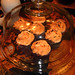 Halloween Cupcakes Under Glass