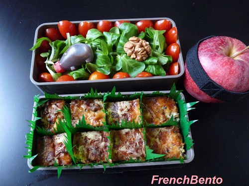 everything tart bento | by FrenchBento