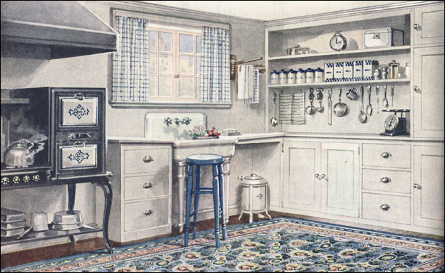 1921 Armstrong Kitchen Sanitary Style One Hallmark Of