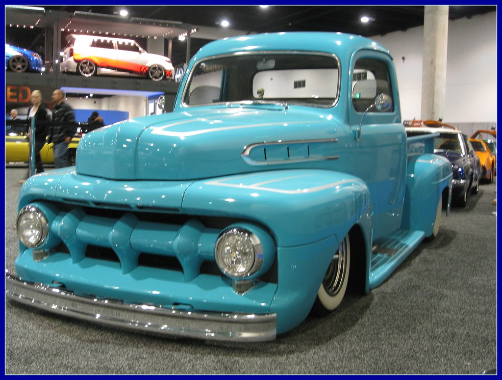Ford F1 Custom - 1952 | San Diego International Auto Show ...