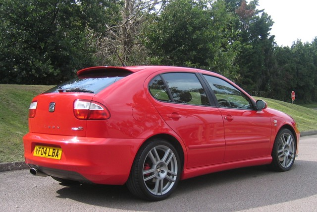 2004 seat leon cupra r 225 emocion red superb beautifully flickr. Black Bedroom Furniture Sets. Home Design Ideas