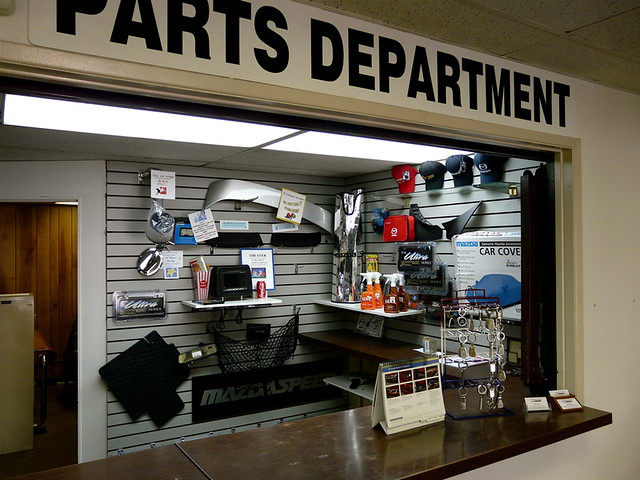parts display: