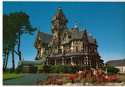 The Carson Mansion Eureka California Built By William