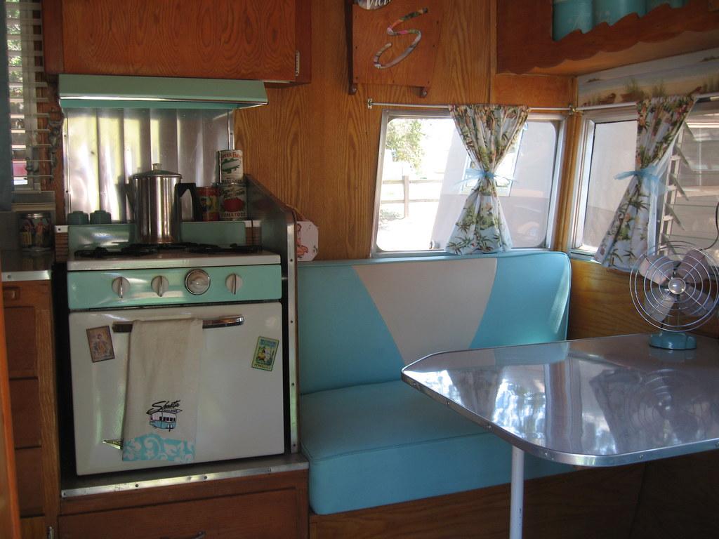 Retro Camper Interior Garwood Vintage Trailer For Sale