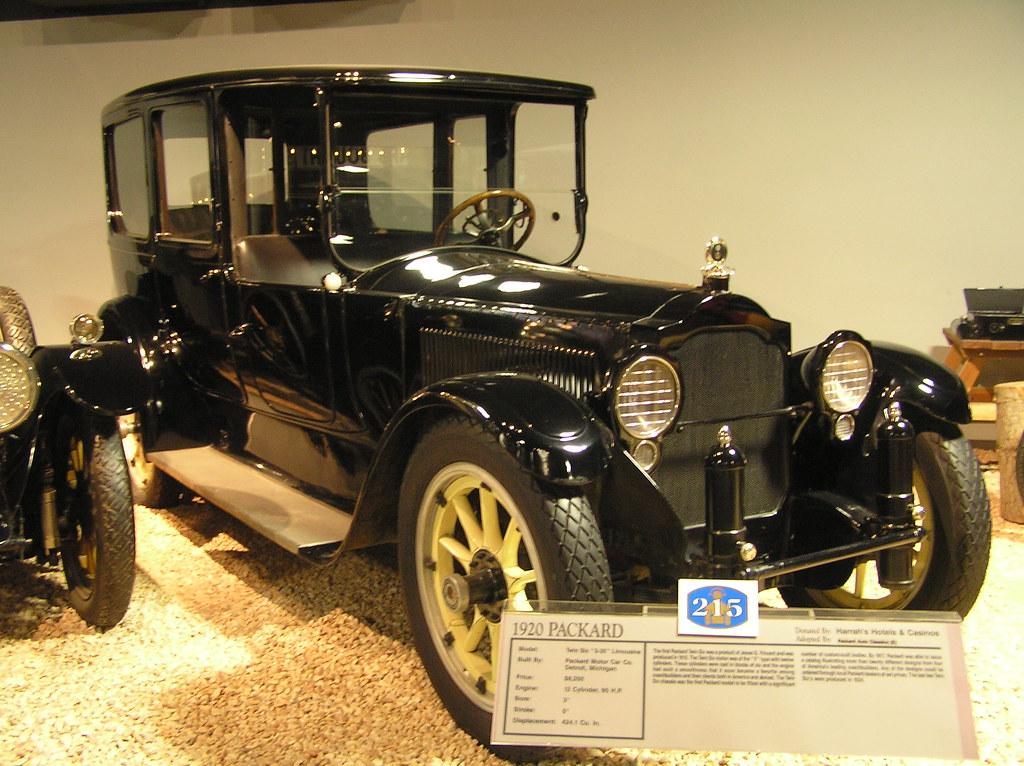 National Auto Museum Reno 1920 Packard Twin Six Limousi