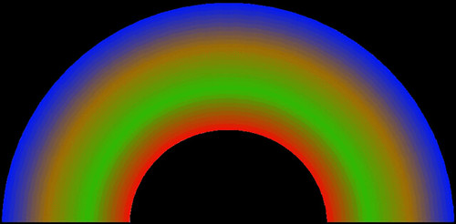 night rainbow aurora black back animation 350ms